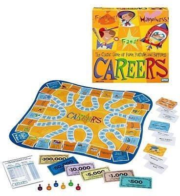 Parker Brothers Careers Board Game