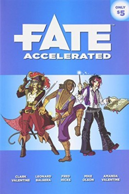 Evil Hat Productions Fate Accelerated Board Game