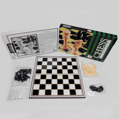 United Toys Chess & Checkers Deluxe Board Game