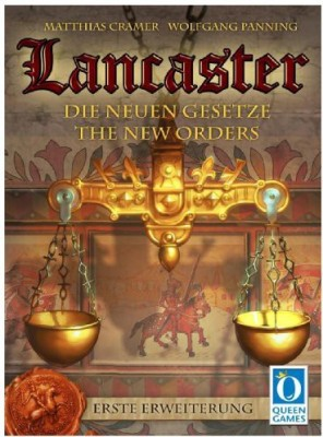 Queen Games Lancaster The New Laws Board Game