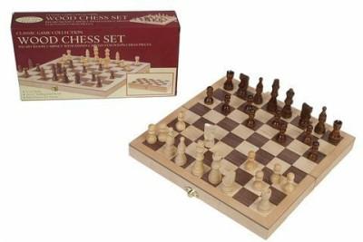 John N. Hansen Classic Collection Wood Chess Set Board Game