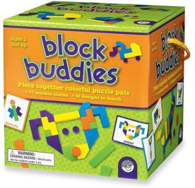 Mindware Block Buddies Board Game