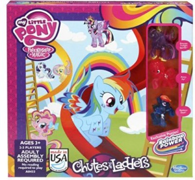 Hasbro My Little Pony Chutes And Ladders Board Game
