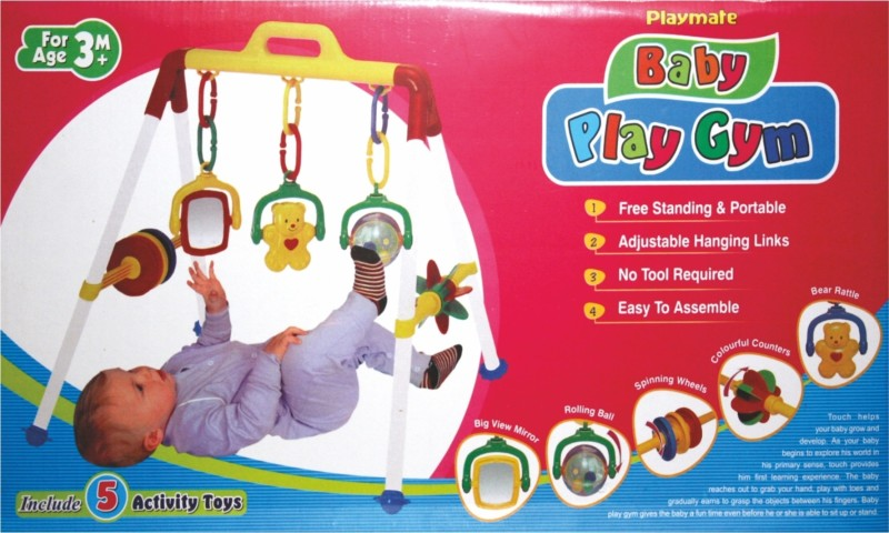 Playmates Toys Baby Play Gym Board Game