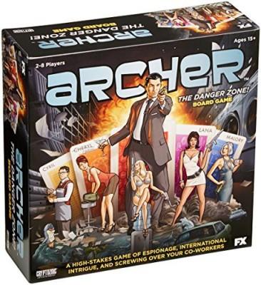 Cryptozoic Entertainment Archer Board Game