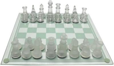 Smiledrive Premium Glass Chess Game Set Board Game