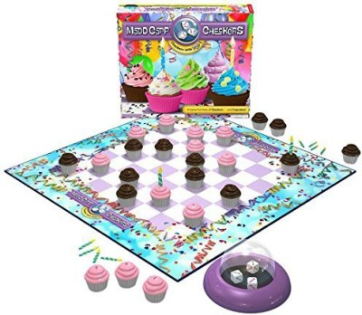 Madd Capp Checkers Cupcake Lovers Edition Board Game