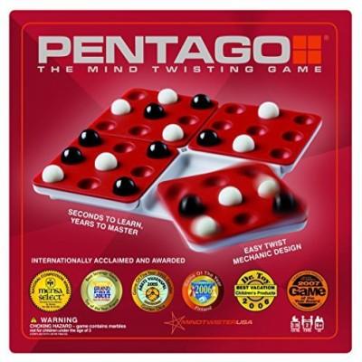 Mindtwister USA Mindtwister Pentago Travel Edition Board Game
