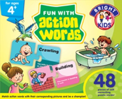 BPI Fun With Action Words Board Game