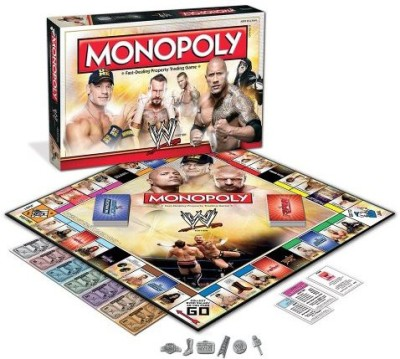 USAopoly Monopoly Wwe Edition Board Game