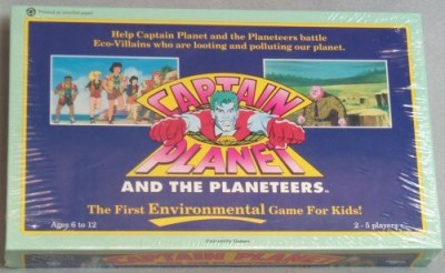 University Games Captain Planet And The Planeteers Board Game