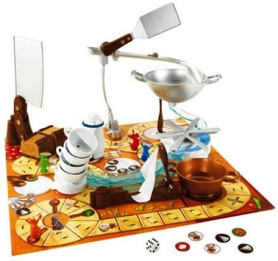Mattel Ratatouille Kitchen Quake Board Game