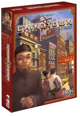 Z-Man Games Chinatown Board Game
