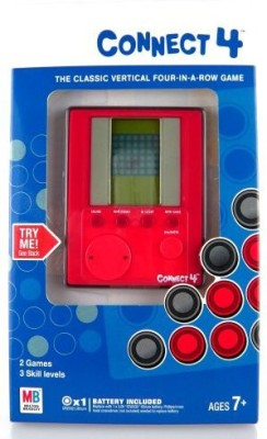 Hasbro Handheld Electronic Connect 4 Board Game