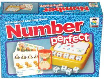 Virgo Toys Word Perfect Number Board Game