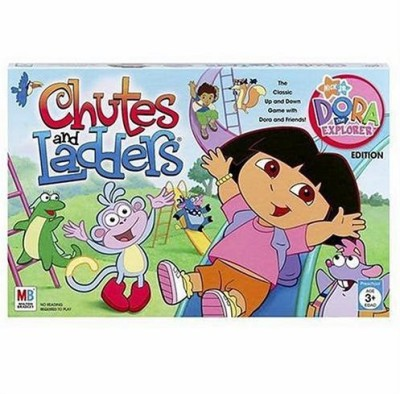 Hasbro Chutes And Ladders Dora The Explorer Edition Board Game