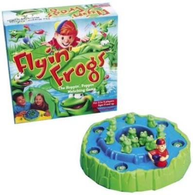 Pressman Toy Flyin, Frogs Board Game