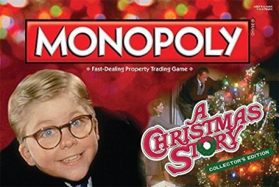 USAopoly A Christmas Story Monopoly Board Game