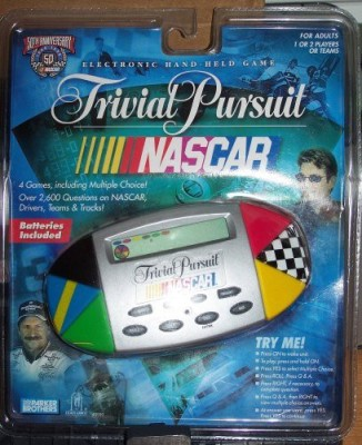 Hasbro Trivial Pursuit Nascar Edition Board Game