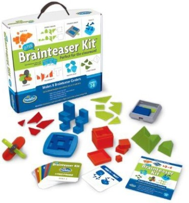 Think Fun A Ha Brainteaser Kit Board Game