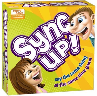 USAopoly Sync Up Say The Same Thing At The Same Time Board Game