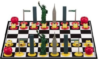 Big League Promotions New York City Chess Board Game