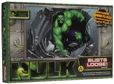 Pressman Toy Hulk Busts Loose Board Game