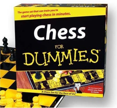 TDC Games Chess For Dummies Board Game