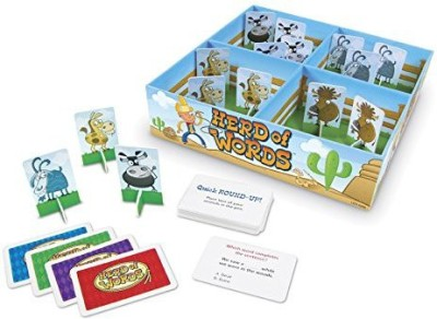 Learning Resources Herd Of Words Vocabulary Board Game