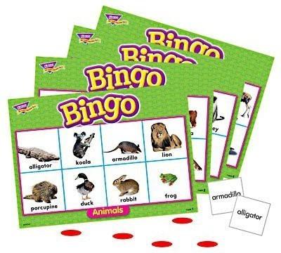 Darice Animals Bingo Board Game