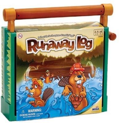 Mega Puzzles Runaway Log Board Game