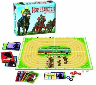 R & R Games Homestretch Race To The Finish Board Game