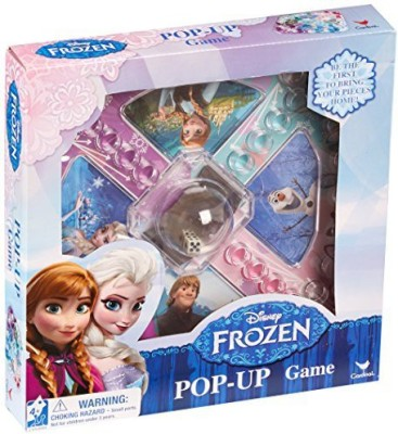 Frozen Disney Pop Up Styles Will Vary Board Game