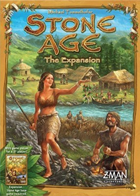 Z-Man Games Stone Age The Expansion Board Game