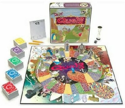 Wiggity Bang Games Quelf Board Game