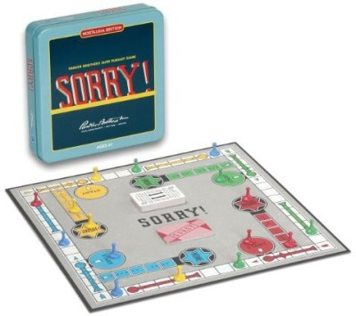 Winning Solutions Sorry Nostalgia Tin Board Game