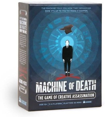 Bearstache Machine Of Death Creative Assassination Board Game