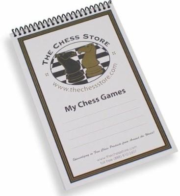 The Chess Store Chess Scorebook Board Game