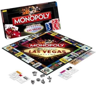 USAopoly Monopoly Las Vegas Board Game