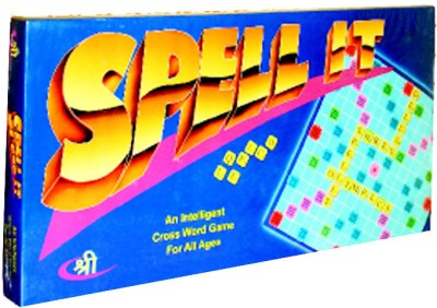 Shree Creations Spell It Deluxe Board Game