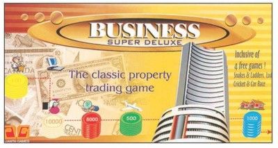 Ajanta Business 5 In 1 Jr Board Game