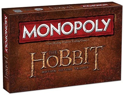 USAopoly Monopoly The Hobbit Trilogy Edition Board Game