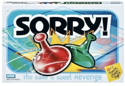 Parker Brothers Sorry Board Game