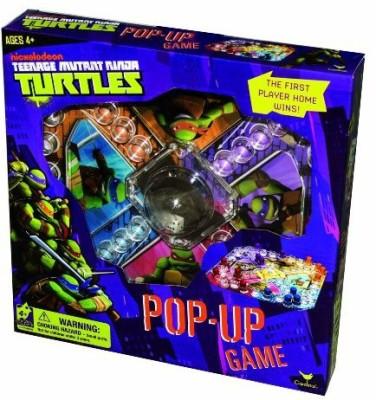Cardinal Industries Teenage Mutant Ninja Turtles Pop Up Board Game