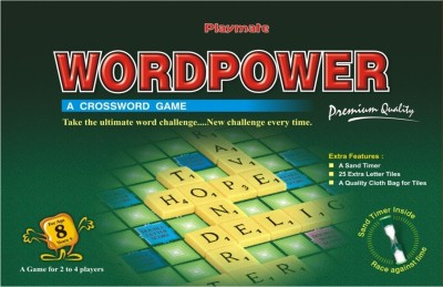 Playmate Word Power Premium Board Game