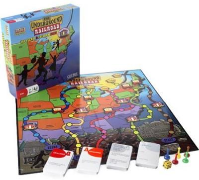 Pressman Toy Black Heritage The Underground Railroad Board Game