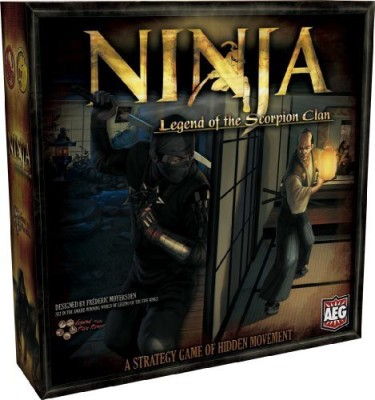 Alderac Entertainment Group Ninja Legend Of The Scorpion Board Game