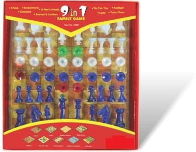 GSMI 9 Family Games Board Game