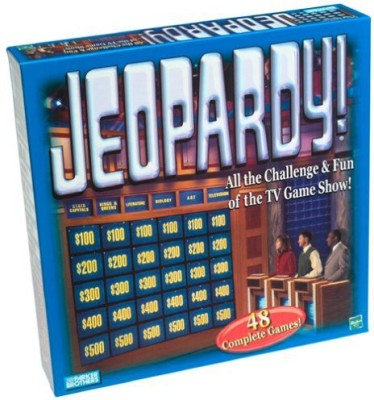 Hasbro Jeopardy All The Challenge & Fun Of The Tv Show Board Game