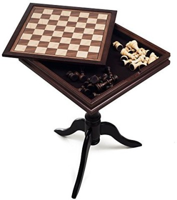 Trademark Games Deluxe Chess And Backgammon Table Board Game